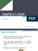 Algebra Lineal UNIDAD1