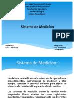 Sistema de Medición.