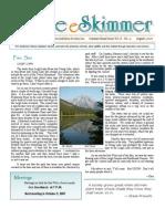 August 2007 Skimmer Newsletter Southeast Volusia Audubon Society