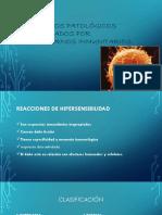 Procesos Patológicos Provocados Por Trastornos Inmunitarios
