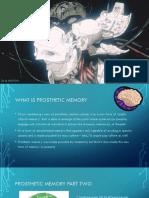 Prosthetic Memory Powerpoint