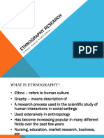 Ethnography ppt