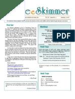 January 2008 Skimmer Newsletter Southeast Volusia Audubon Society