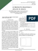 Avance de Proyecto PH X