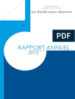 Rapport_Annuel_2015 Verificateur General Mali