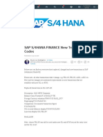 (8) SAP S_4HANA FINANCE New Transaction Codes _ LinkedIn