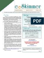 October 2008 Skimmer Newsletter Southeast Volusia Audubon Society