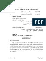Judgement 138 NI Act DHC
