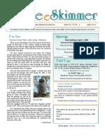 April 2009 Skimmer Newsletter Southeast Volusia Audubon Society