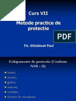 Curs VII- Metode Practice de Protectie