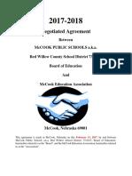 Certificated Neg Agreement 2018