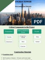 Shanghai Tower Construction Materials.pptx