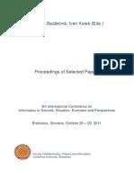 Issep 2011 Proceedings