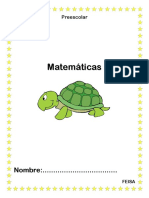 Matematicas pre kínder