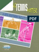 Making Tennis Matter Usta Southern Facility Toolkit 0816