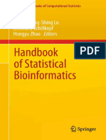 Handbook of Statistical Bioinformatics 2011Henry Horng-Shing Lu, Bernhard Schölkopf, Hongyu Zhao
