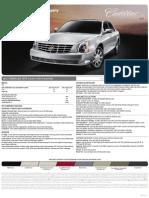 2010 Cadillac DTS Brochure Heyward Allen Motor Company Atlanta, GA