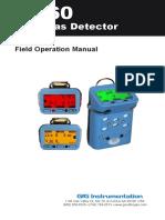 MAnual de Operaciones de Detector Multigas G460