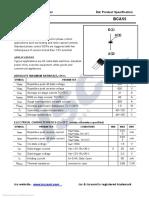 BCA55 Thyristor Datasheet (Finglai SSR ASH-C-80DA)