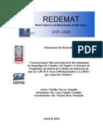 DISSERTAÇÃO_CaracterizaçãoMicroestruturalRevestimentos