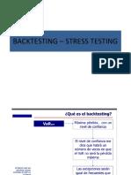 Backtesting – Stress Testing