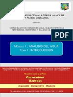 1_1 Analisis Del Agua (Introducción)