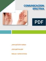 Comunicación Efectiva y Asertividad