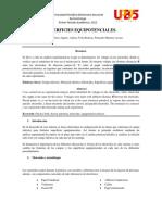 Informe Superficies Equipotenciales_