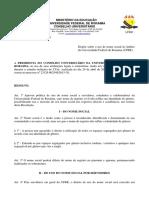 Resol. 006-15 CUni -Dispe Sobre o Uso de Nome Social No Mbito Da Universidade Federal de Roraima