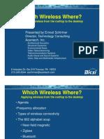 Which Wireless Where