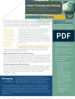 AFTT EIS/OEIS Environmental Stewardship Programs Fact Sheet