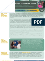 AFTT EIS/OEIS NEPA Process and Community Involvement Fact Sheet
