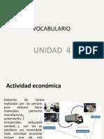 vocabulario u-4