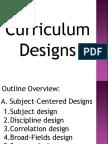 Curriculum Designs