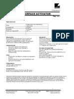 Ficha Técnica Surface Activator