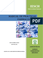 Manual de Practicas Farmacologia