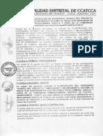 Contrato Riego Pampaccamara