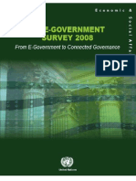 UN Global e-Government Survey 2008 - From E-Government to Connected Governance
