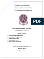 Informe Proctor Modificado Labo Geotecnia
