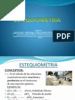 Estequiometria Civil