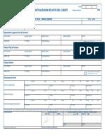 ENTEL Anexo 8 Solicitud de Actualización de Datos Del Cliente