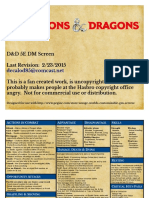 Dd5e Dm Screen
