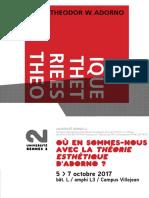 Te Adorno Rennes 2