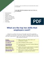 Employability Skills