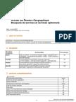 Orange France - Numero d'accueil geographique - Fiche Tarifaire Bouquets Et Services Optionnels