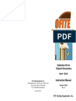 OFITE Calibration Kit for 6-speed Viscosimeters.pdf
