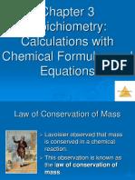 Chemistry I - Chapter 3