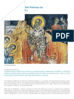 Acta del martirio de San Policarpo de Esmirna (año 155 d.C