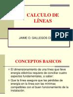 CALCULO DE LÍNEAS.ppt