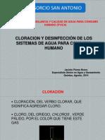 02 Cloración y Desinfección